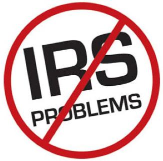 no IRS problems